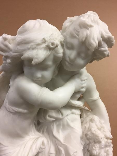 Homélie Audio: vous avez 10 minutes ?  - Page 7 Marble-statue-signed-auguste-moreau-1305043-max